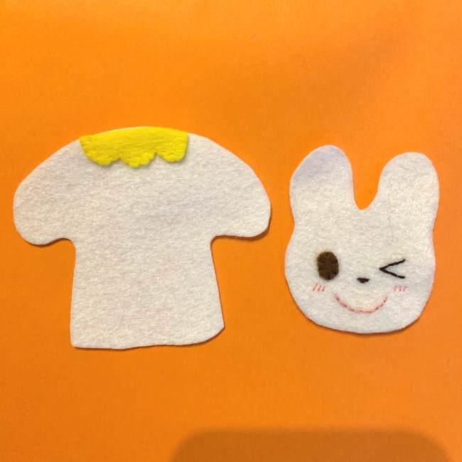 フェルトの指人形の作り方☆型紙(無料)つき (4)