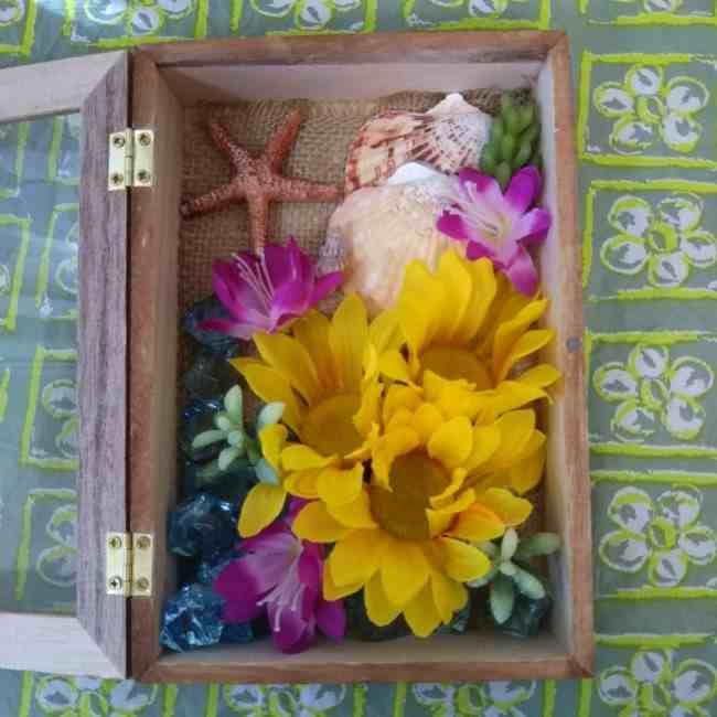 向日葵(ひまわり)の壁飾りの作り方