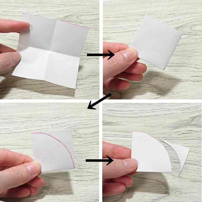 布コサージュの作り方(ボンドを使用・薔薇風) (2)