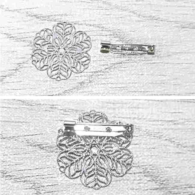 布コサージュの作り方(ボンドを使用・薔薇風) (26)