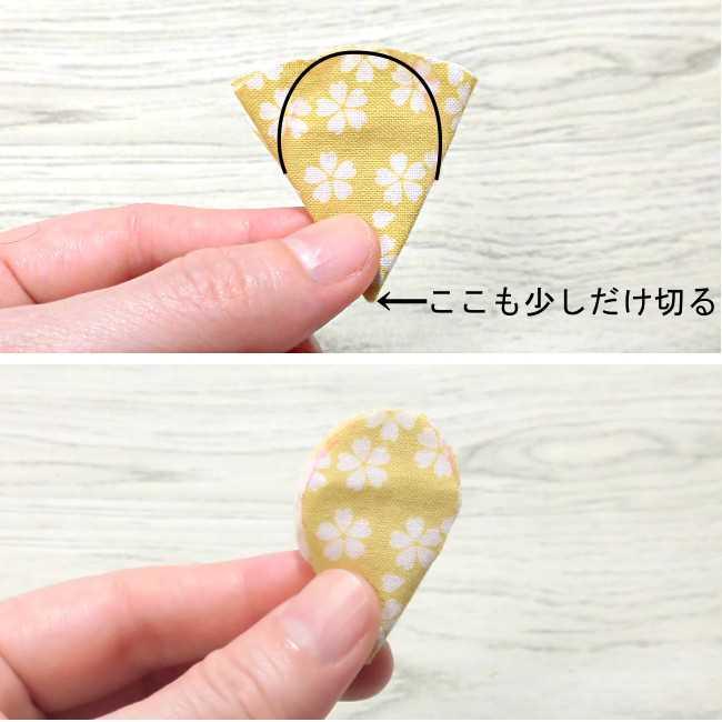 布コサージュの作り方(ボンドを使用・薔薇風) (8)