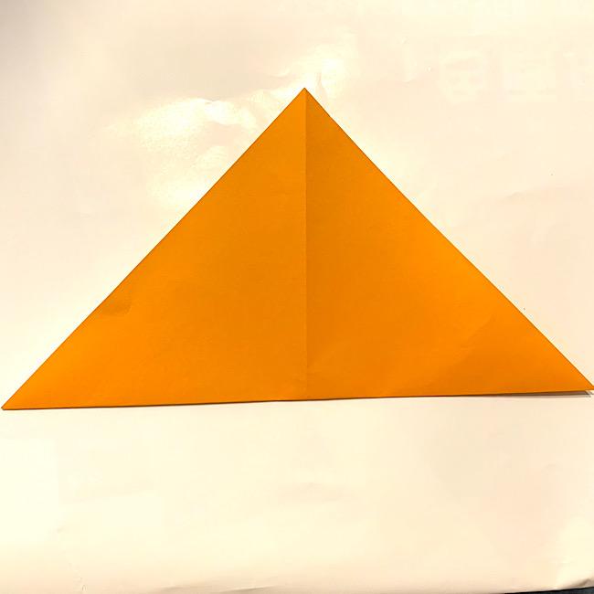 折り紙|みかんの折り方・作り方は簡単♪
