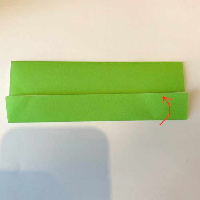 折り紙の電車(平面)の作り方 (2)