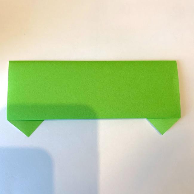 折り紙の電車(平面)の作り方