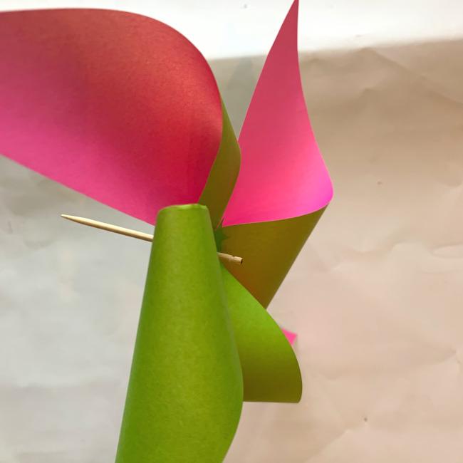 折り紙の風車の作り方 (14)