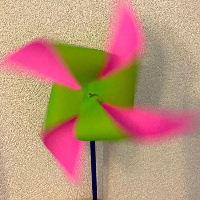 折り紙の風車の作り方 (17)