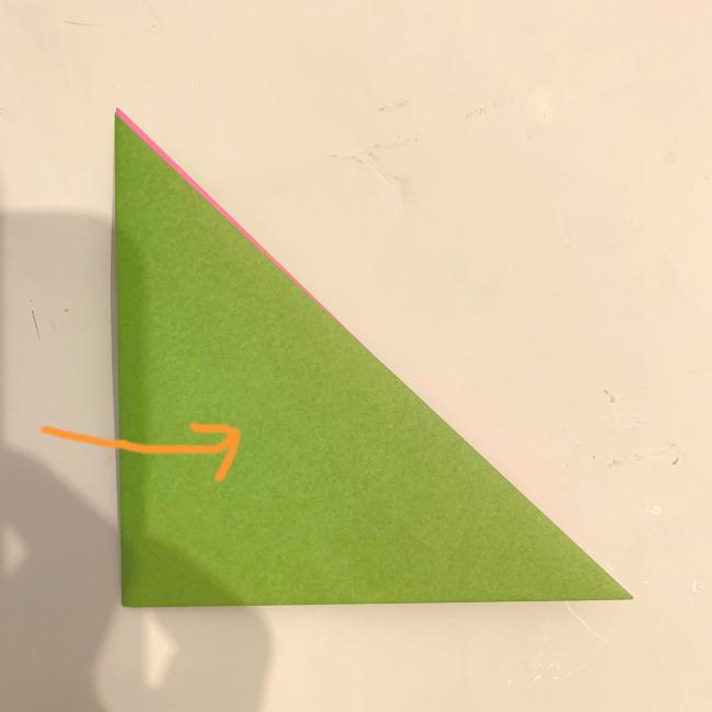 折り紙の風車の作り方 (2)