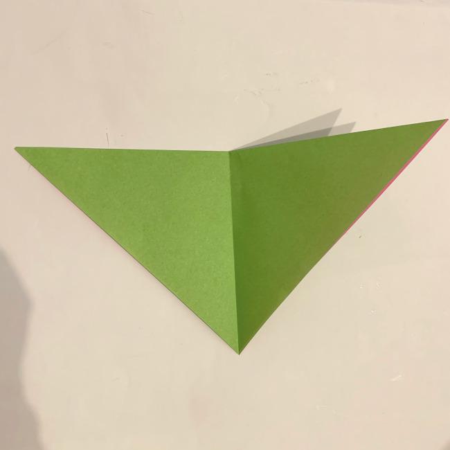 折り紙の風車の作り方 (3)