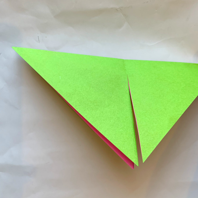 折り紙の風車の作り方 (4)