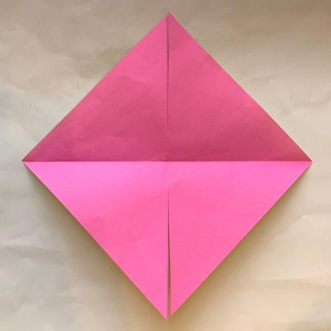 折り紙の風車の作り方 (5)