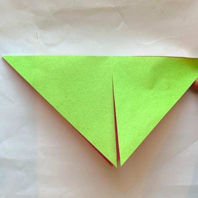 折り紙の風車の作り方 (7)