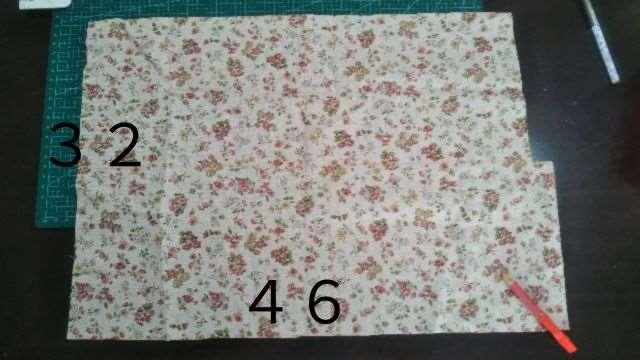 移動ポケット(2段ポケット・大きめサイズ)の作り方(2)