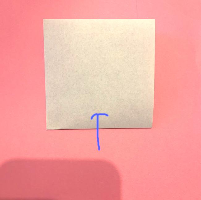 【雪だるまの折り紙】作り方 簡単