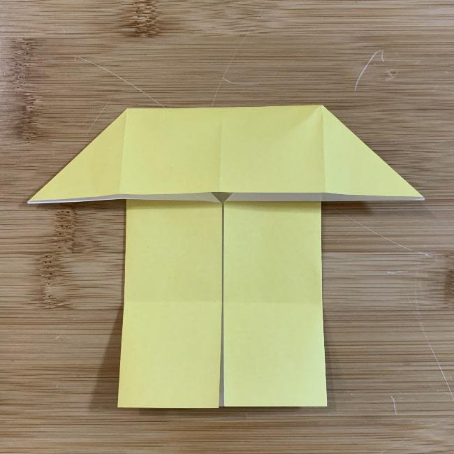 すみっこぐらしの折り紙『エビフライのしっぽ』の折り方・作り方