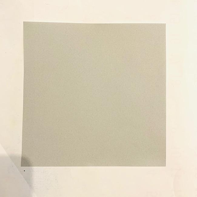 コアラの折り紙の作り方は紙1枚でできる♪