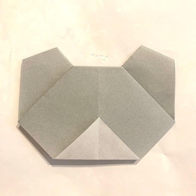折り紙でつくる可愛い・簡単なコアラの作り方