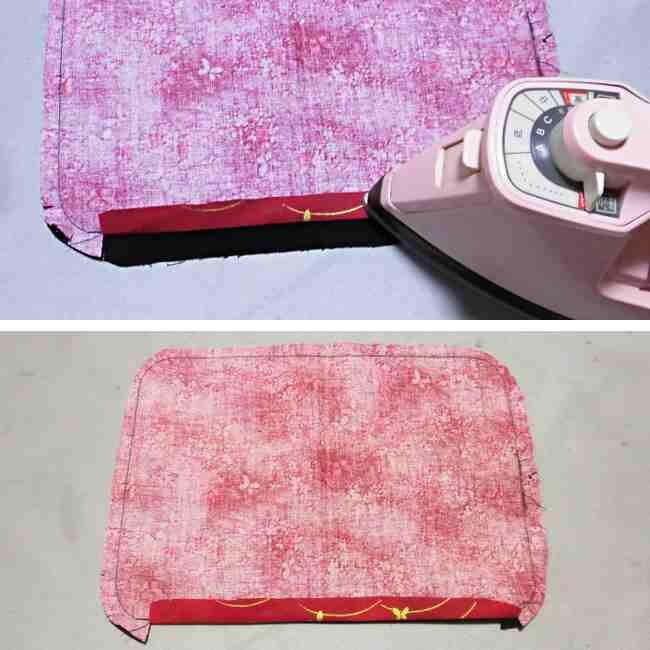マスクケース(二つ折り)の作り方・縫い方 (18)