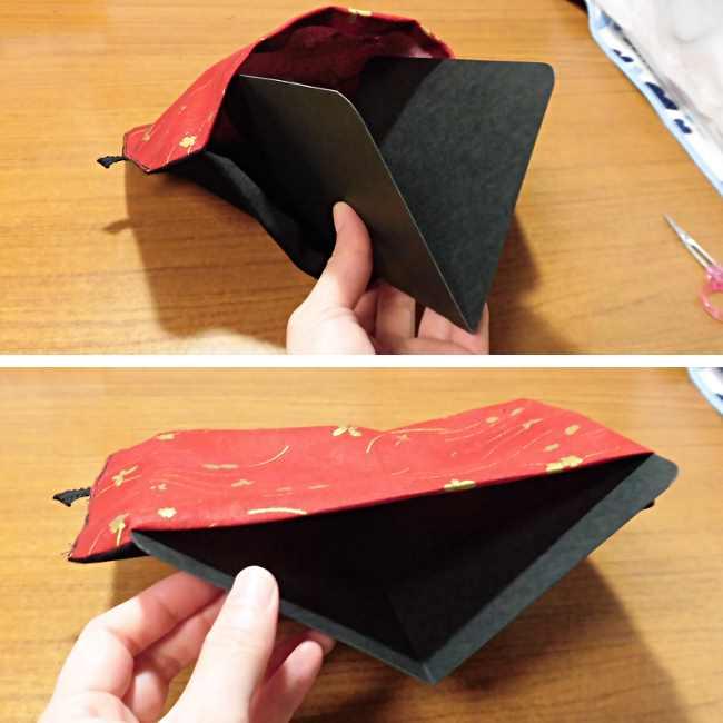 マスクケース(二つ折り)の作り方・縫い方 (27)
