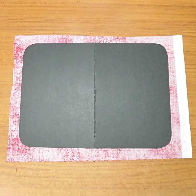 マスクケース(二つ折り)の作り方・縫い方 (3)