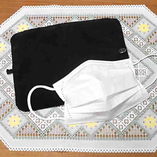 マスクケース(二つ折り)の作り方・縫い方 (31)