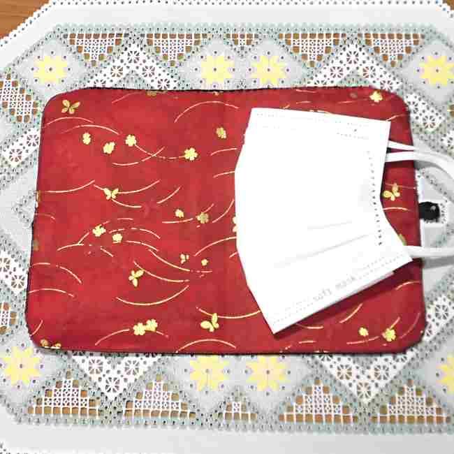 マスクケース(二つ折り)の作り方・縫い方 (32)
