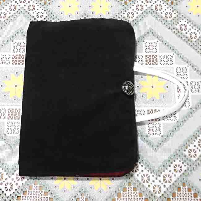 マスクケース(二つ折り)の作り方・縫い方 (33)