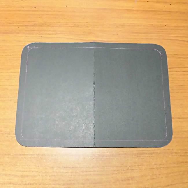マスクケース(二つ折り)の作り方・縫い方 (4)