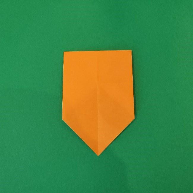 リラックマの折り紙の作り方・折り方