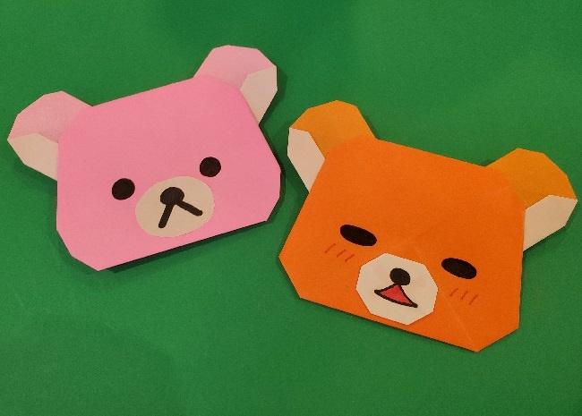 リラックマ折り紙の作り方・折り方|簡単にかわいいキャラクターを作ろう