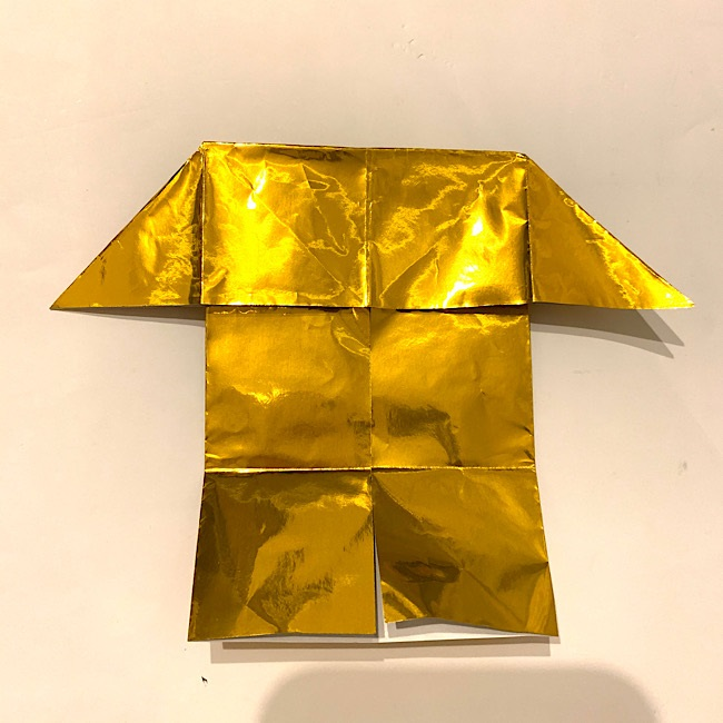 折り紙で金メダルの作り方・折り方