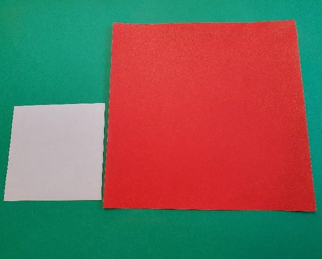 折り紙1枚でマリオ・ルイージの帽子まで作れる♪
