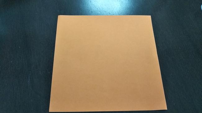 秋に向けてりすを折り紙で子どもとつくったよ♪