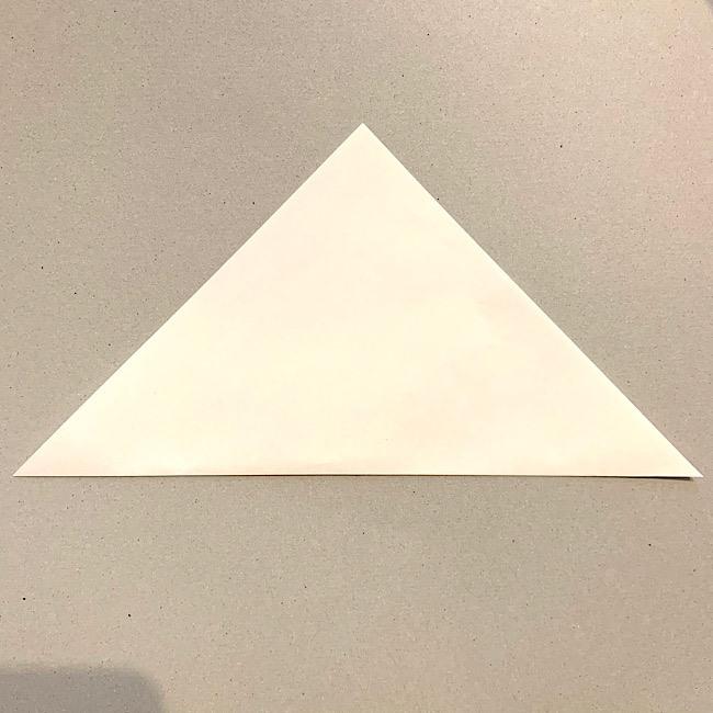 折り紙|平面の猫(ねこ)の折り図 (1)