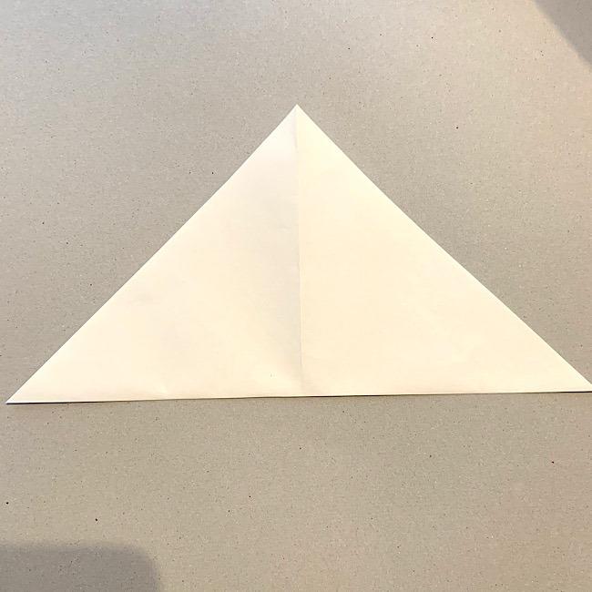 折り紙|平面の猫(ねこ)の折り図 (2)