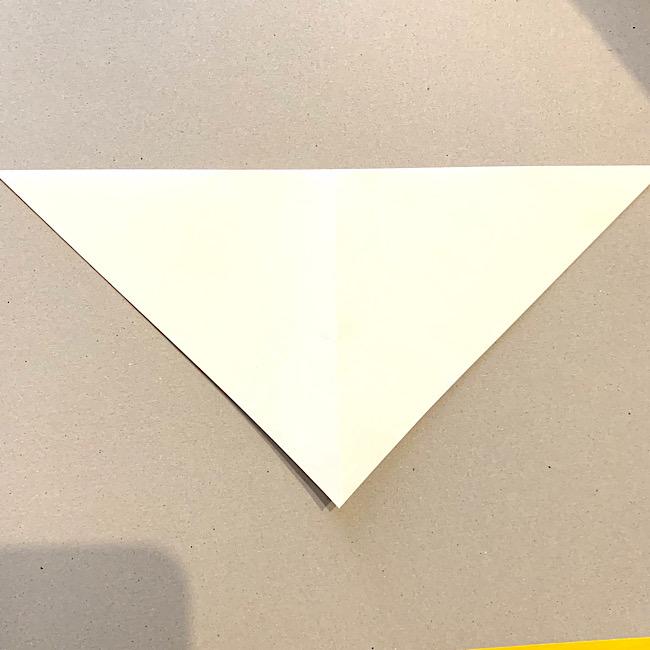 折り紙|平面の猫(ねこ)の折り図 (3)