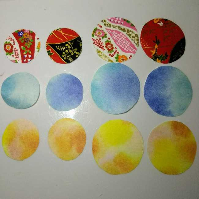 色画用紙の花の壁面飾りは簡単♪作り方 (5)