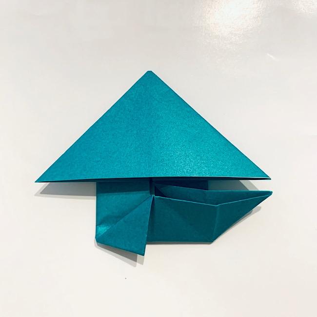 6月の折り紙|簡単『かえる』の折り方・作り方
