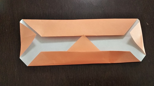 コスモスを使った秋の折り紙ディスプレイの作り方