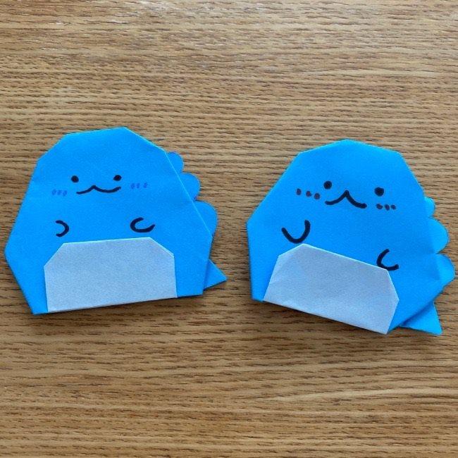 すみっこぐらし★とかげの折り紙は簡単でかわいい♪娘も大喜び!