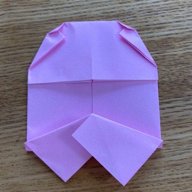すみっこぐらし★タピオカ(たぴおか)の折り紙の作り方・折り方