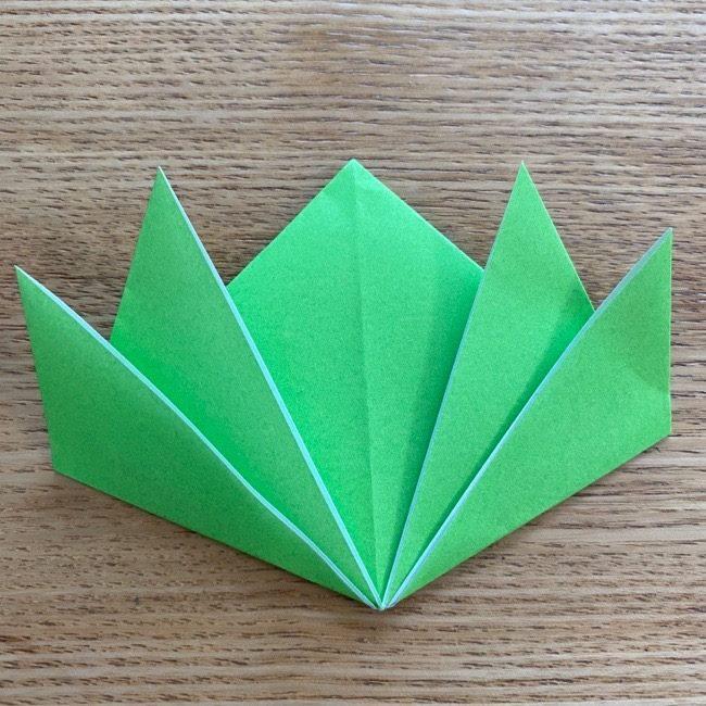 すみっこぐらしの折り紙『ざっそう』の折り方・作り方