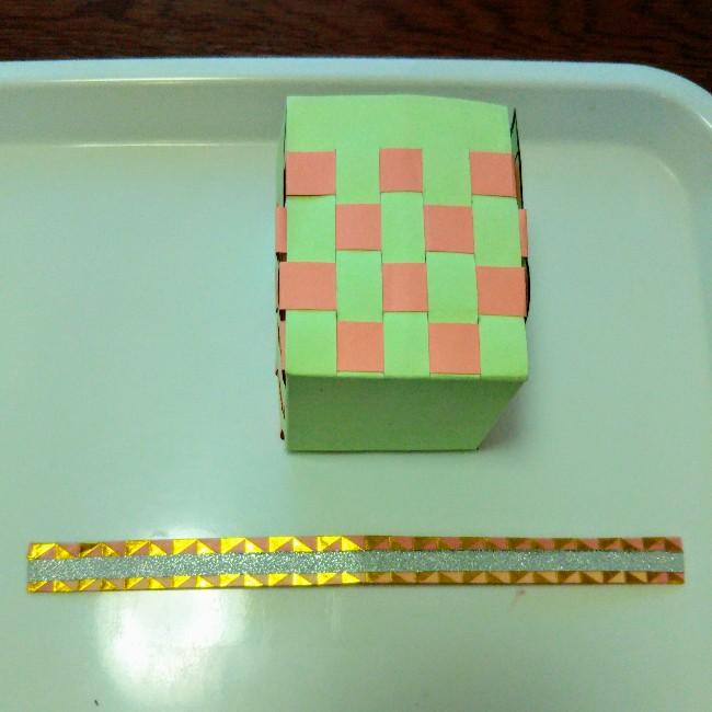 画用紙で作るカバン(紙紐バッグ)の作り方