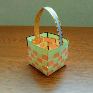 画用紙で作るかばん製作『簡単な作り方』保育園や小学生の工作に!かわいいバッグ