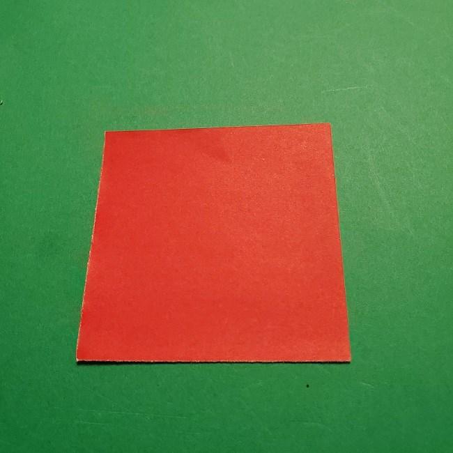 【1月】折り紙のお正月リースの作り方 (1)