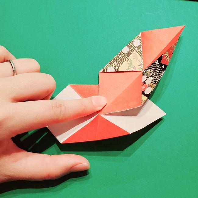 【1月】折り紙のお正月リースの作り方 (10)