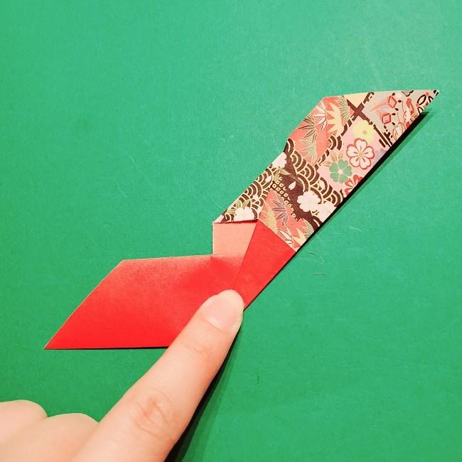 【1月】折り紙のお正月リースの作り方 (13)