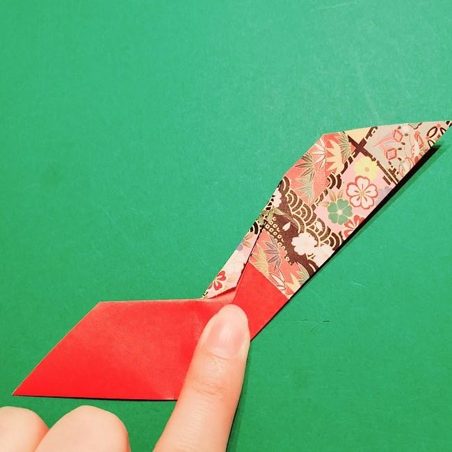 【1月】折り紙のお正月リースの作り方 (14)