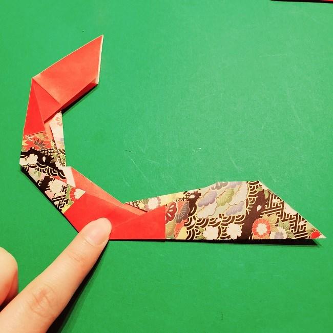 【1月】折り紙のお正月リースの作り方 (17)