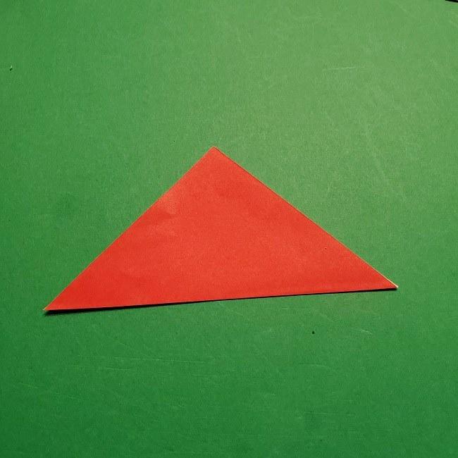 【1月】折り紙のお正月リースの作り方 (2)