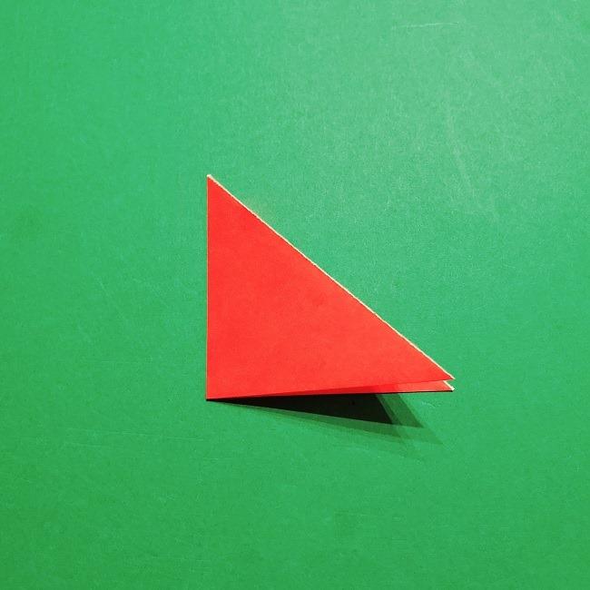 【1月】折り紙のお正月リースの作り方 (3)